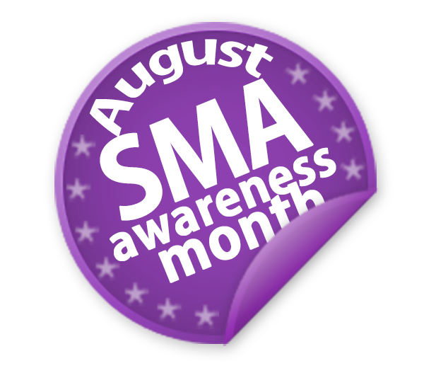 2012 August SMA Awareness badge